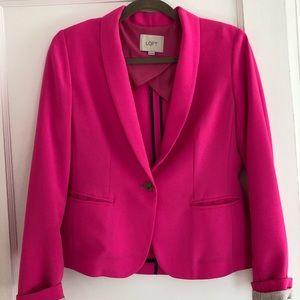 Neon Pink Ann Taylor Loft Blazer - XS